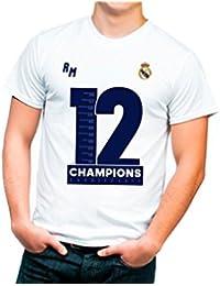Camiseta Doce Copas Champions Real Madrid