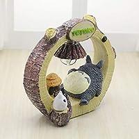 Kawaii Bande Dessinée Mon Voisin Totoro Umbrella Lampe LED Veilleuse Table  De Lecture Lampes de Bureau fa5182c9ebd