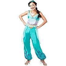 Rubie 's 820519l oficial de Disney Princess Jasmine Aladdin–Adulto Disfraz–Reino Unido señoras tamaño 16–18, grande