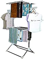 Leostar Double Layer Clothes Rack And Stand Drying Hanger [CD-1212]
