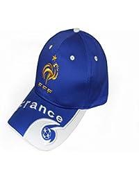 wei Los fanáticos del equipo nacional gorras de béisbol bordadas Gorras Cap Visor,Francia,Un tamaño