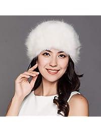 13b937992ab85 YIERSANSI Sombrero de Invierno Jersey de Punto Sombrero de
