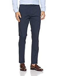 Indigo Nation Men's Straight Fit Formal Trousers
