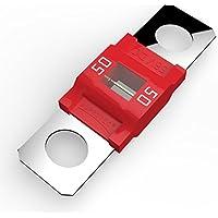 Auprotec® MIDI fusibile ad alta corrente avvitarsi 40A - 100A selezione: 50A Ampere rosso, 3 pezzi