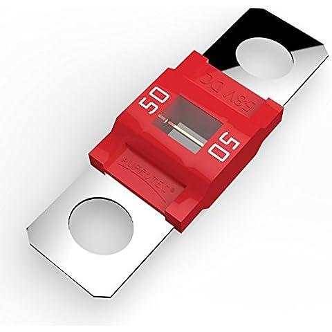 Auprotec® MIDI fusible de alto voltaje atornillable 40A - 100A selección: 50A Ampere rojo, 1 pieza