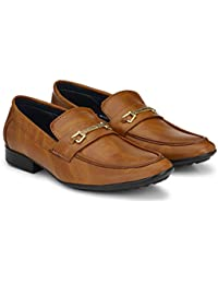 reputable site 36193 1e6fc Brandlance Men s Leather Lofers for Men Casual Mens Loafer Shoes L02
