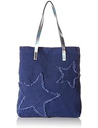 edc by Esprit Damen 077ca1o004 Tote, Blau (Ink), 10 x 42 x 36 cm