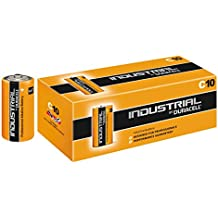 Duracell DUR082892 Industrial Batterie (Confezione da 10 pezzi)