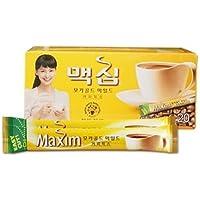Maxim Café instantáneo coreana oro moka 20 palos 240g (12 g x 10) + 4 palos gratis