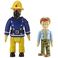 Fireman Sam 2 Figure Pack - Sam With Mask & Norman
