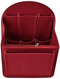 Pinji Felt Insert Bag Shoulders Rucksack Backpack Organiser Tidy Travel Handbag Cosmetic Multi Pocket