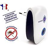 TRANQUILISAFE ® - repelente ultrasónico , antimosquitos y antimosquitos tigres - PROTECCIÓN ECOLÓGICA Y NATURAL - satisfacción garantizada - Repelente de mosquitos electrónico : sin olor y silencioso - Una solución eficiente y económica - NUEVA VERSIÓN.