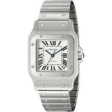 Cartier W20098D6 - Reloj de pulsera hombre, acero inoxidable, color plateado