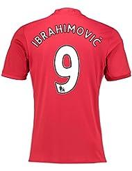 2016-17 Manchester United Home Shirt (Ibrahimovic 9)