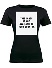 This Image Is Not Available In Your Country. Camiseta para mujer