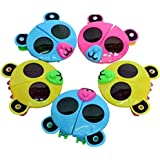 Shararat Foldable Sunglasses for Kids (Multicolour) - Pack of 12