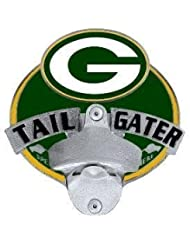 Green Bay Packers - NFL Tailgater Metal Hitch Cover With Bottle Opener by Siskiyou