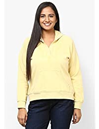GRAIN yellow Color Regular fit Cotton Jackets for Women