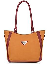 Fostelo Women's Daisy Handbag (Tan) (FSB-1154)
