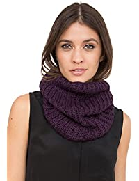 Merino Knitted Infinity Snood Scarf