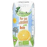 Les Fées Bio Pur Jus d'Orange Bio Brique 20 cl