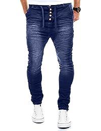 8472201191 MERISH Pantalones Vaqueros Hombre con Tiro caído Slim Fit Modell J3012
