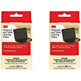 3M Notebook Screen Cleaning Wipes, 3.9 x 6.9 Inches1 -Set of 2