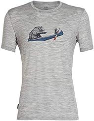 Icebreaker Tech Lite SS Crewe Canoe Companions T-Shirt Homme