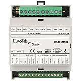 newlab LED Dimmer Controlador PWM 4canales rgb + W 8ax4-ubec Bluetooth DMX512Dali Master Salve Casquillo guía DIN Rail