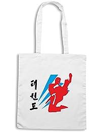 T-Shirtshock - Bolsa para la compra TBOXE0040 taekwondo