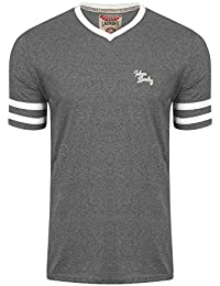 Tokyo Laundry - T-shirt - Col V - Manches Courtes - Homme