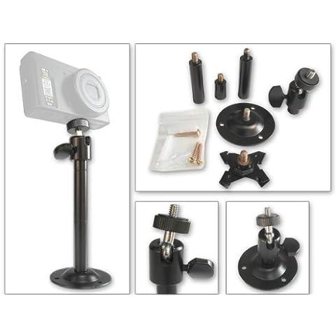 Supporto da Parete e Soffitto per Fotocamera Digitale, Pieghevole e Girevole, Modello FS8