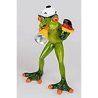 Formano Dekofigur Frosch Fan Fußball handbemalt 717108B