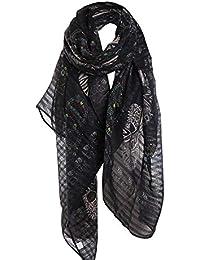 0439ae741d9 Amazon.fr   foulard tete de mort - Accessoires   Femme   Vêtements