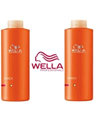 Wella Professionals Enrich Volumateur Photo grand format Duo Shampooing 1000ml & Après-shampooing 1000ml Fin / Cheveux normaux