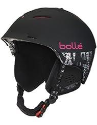 Bolle Synergy Helmet - Soft Black/Pink, 54 - 58 cm by Boll