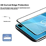 HITFIT 6D Tempered Glass Premium Quality Screen Protector for Samsung Galaxy S10 Plus - Black