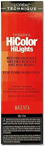 L'Oreal Paris L'oreal Excellence Hicolor, Red Magenta Highlights, 1