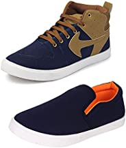 Bersache Men Combo Pack of 2 Casual Sneakers Shoes