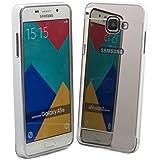 iCues Samsung Galaxy A5 (2016) Amarillo Case - Coque miroir alu avec arrière polycarbonate argenté