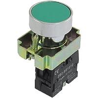 22mm 1NO N/O verde señal pulsador momentáneo Interruptor 600V 10A ZB2-BA31