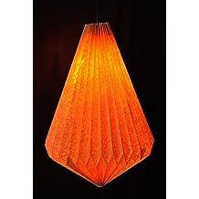Indian fabriqué à la main décoratifs Origami Lampshade Chambre lampe suspension 43x 34cm