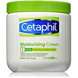 Cetaphil Daily Moisturizing cream for Dry-Sensitive Skin,Fragrance Free,20oz