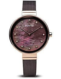 BERING Womens Analogue Quartz Watch with Stainless Steel Strap 12034-265