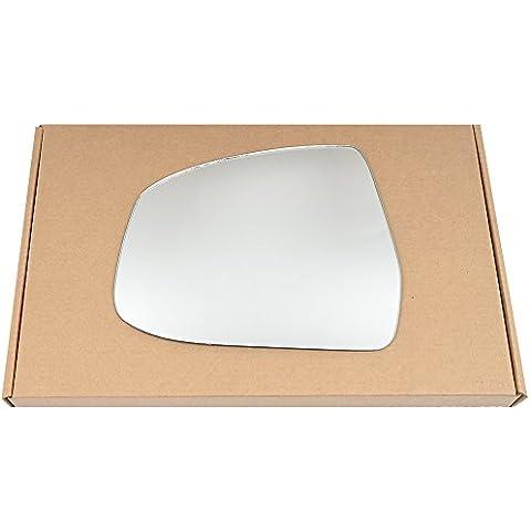 Izquierda passegner cristal de plata espejo retrovisor lateral para Ford Focus 2008–2014