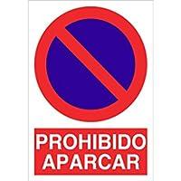 Cofan Señal poliestireno Prohido aparcar 420x297mm