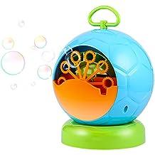 Pompas de Jabón Maquina Automática de Burbujas Saludable para Niño para Navidad Cumpleanos Ceremonia Bodas