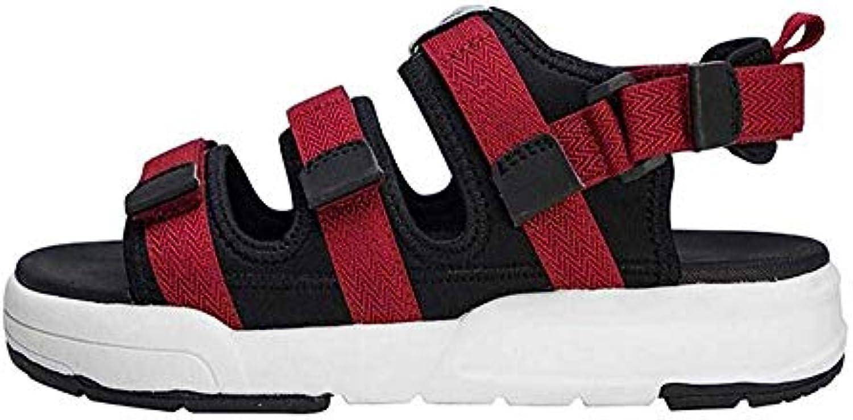 Fuxitoggo Sandali da Trekking Outdoor Summer scarpe Pantofola da Uomo, Nera, 41 42 (Coloreee   Rosso, Dimensione... | Meraviglioso  | Uomo/Donne Scarpa