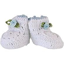 Mopec Patuco Decorativo de Ganchillo Hechos a Mano, Pack de 6 Unidades, Crochet,