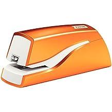 Petrus Grapadora eléctrica, 10 hojas, Naranja metalizado, Modelo WOW E-310, 624823